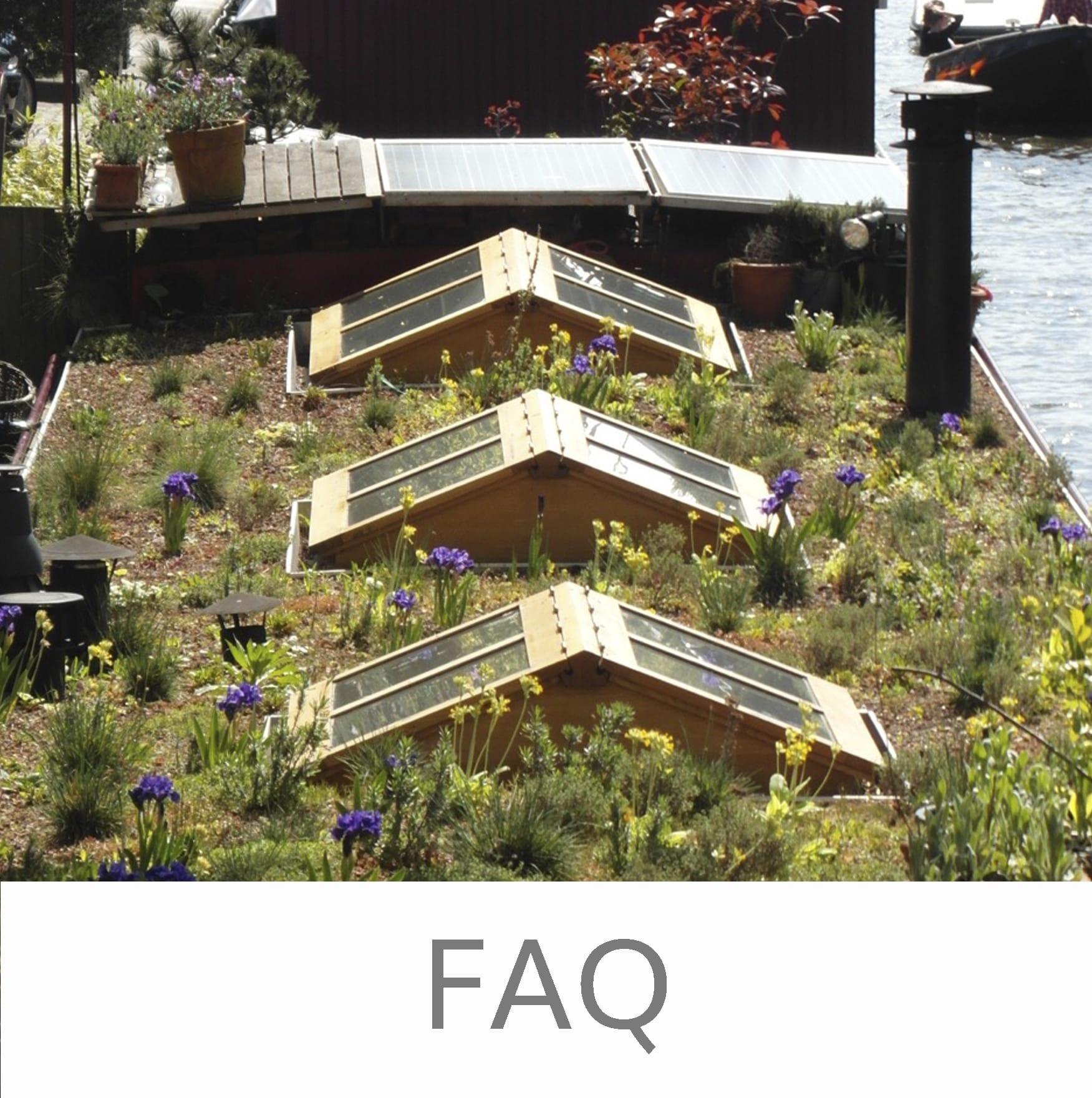 Groene daken veel gestelde vragen